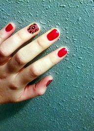 Red + Cheetah print :)