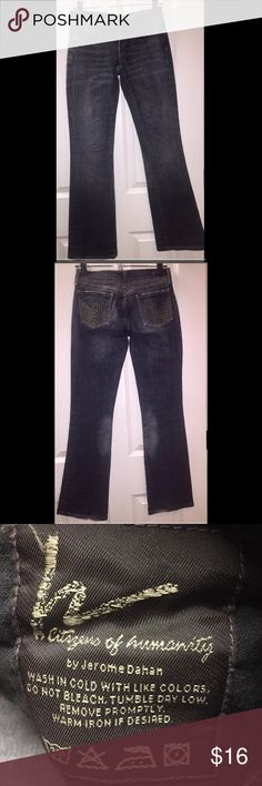 Mint Citizens of Humanity boot cut jeans. Sz 24 Mint Citizens of Humanity boot cut jeans. Faded black color in perfect condition! Sz 24 Jeans Boot Cut