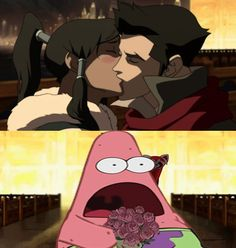 The Legend of Korra: no patric!