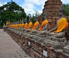 Wat Yai Chai Mongkhon #Ayutthaia - una pic di orne79