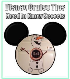 Disney Cruise Line, Tips, Need to Know Secrets