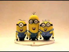 The Minions sing Happy Birthday To You