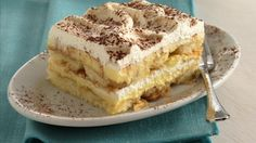 Make a classic Italian dessert layered with sweet cream cheese, delicate cake, and spiked with coffee and rum.