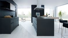 Bulthaup Wiesbaden kitchen with island b3 collection by bulthaup camino