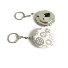 Porte-clé décapsuleur steampunk porte-clé mixte porte-clé