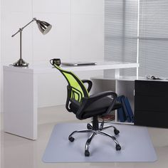 office chair mat 45 x 60 dining chairs upholstered evolve x60 modern shape rectangle for low pile other pinners loved these ideas hot mats