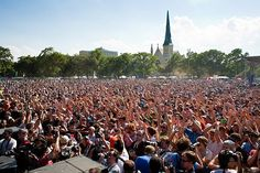 Our favorite place to be! #Crowd #Music #MusicFestival