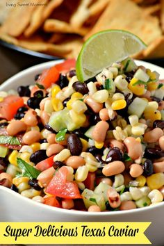 This amazing Texas Caviar Dip recipe is the perfect appetizer that's easy to make and delicious. Is it also vegan, gluten free & healthy. Better than salsa!