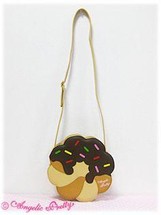 Angelic Pretty / Bags & Wallets / Donut Shoulder Bag - Lolita fashion