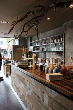 Fitted by #mulbury a new cafe, Creme, in Port Melbourne. #cafe