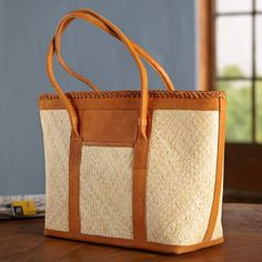 Balinese Rattan Tote Bag | National Geographic Store