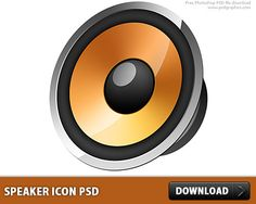Cool Free Speaker icon PSD. Stylized computer speaker icon in black and orange colors. Glossy icon style, created with Photoshop, PSD file is available for download. Useful icon freebie, can be used as a web icon and application button.  #downloadfreepsd #downloadpsd #FreeIcon #FreeIcons #FreePSD #Glossy #Icon #IconPSD #LayeredPSDs #Music #Objects #PSD #psddownload #PSDfile #psdfree #psdfreedownload #PSDimages #psdresources #PSDSources #PsdTemplates #Sound #Speaker #Speakers