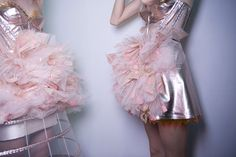 pink, lame, ruffles
