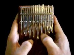 Amazingly beautiful song. I want one of these for Christmas... SaReGaMa - Kalimba solo for Lotus