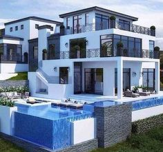 Comment if this insane modern mansion is perfect for you ...