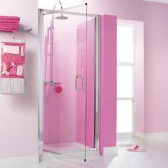 Supreme Luxury Pink Shower Room