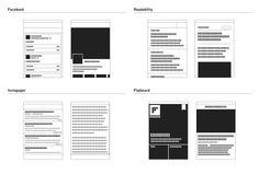 Analisi del layout delle principali app editoriali. Dati aggiornati a settembre 2012. Infografica di Simone Trotti