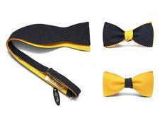 Yellow grey Bow Tie - Wedding Inspiration, visit http://www.galantier.cz/vazaci-motylky/zluto-sedy-pruhovany-vazaci-motylek/?utm_source=pinterest&utm_medium=display&utm_campaign=wedding+inspiration&utm_content=yellow