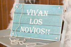 Tabla de madera para bodas bonitas!!