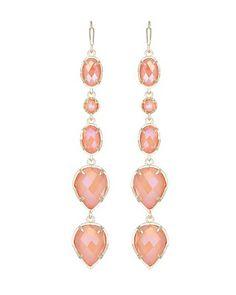 Byron Long Earrings in Iridescent Tangerine- Kendra Scott Jewelry. Coming soon!