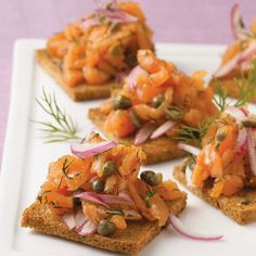 Appetizer+Recipes | Smoked Salmon Appetizers Recipes | AUNTIE MYRTLES