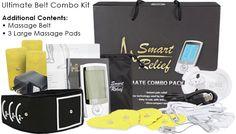 TENS Unit Electronic Massager & Muscle Stimulation Kit