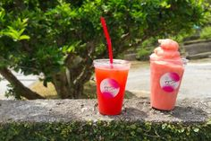 Acerola drinks and more grown, developed, and sold locally in Motobu-cho - Venues - HereNow Okinawa Okinawa, Great Recipes, The Incredibles, Fresh, Make It Yourself, Food, Essen, Meals, Yemek