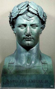 Lorenzo Bartolini, Napoleon I , c. 155 x 91 x 76 cm, Musée du . Statues, Monuments, Napoleon Josephine, Italian Sculptors, Sculpture Head, French History, Inspirational Artwork, Portraits, Napoleonic Wars