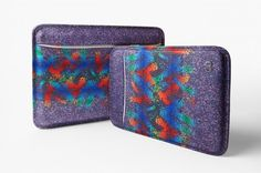 """Clothing label Agi & Sam takes their aesthetic of print-heavy designs to the tech market with these iPad and Macbook cases for UK's The neoprene """"letterbox"""" sleeves have been construct Macbook Sleeve, Macbook Case, Urban Fashion, Mens Fashion, Ipad, Cool Style, My Style, Clothing Labels, Hypebeast"""
