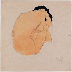 Egon Schiele / E.S. will always be one of my favorite artists. Those lines, those emotions!