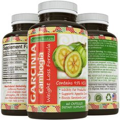 Garcinia Cambogia Raw 95% HCA Extract Weight Loss Pills for Women and Men - Fat Burning Supplements for Abs Legs and Arms - Antioxidant Complex for a Strong Immune System by California Products. #CaliforniaProducts, #NoModel #WeightLoss Buy Garcinia Cambo