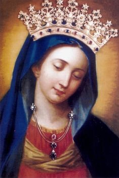 Mater Pietatis The miraculous image of Mary in Ariccia, Italy. The painting is venerated under the title Mother of Piety.