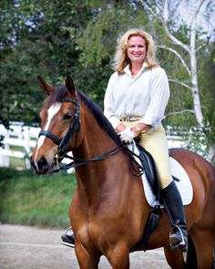 Ann Romney rides horses as equestrian therapy for her multiple sclerosis.