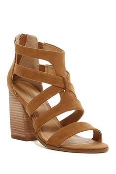Rory Strappy Block Heel Sandal by Melrose and Market on @nordstrom_rack