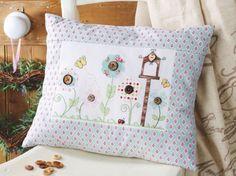 How to make an applique cushion