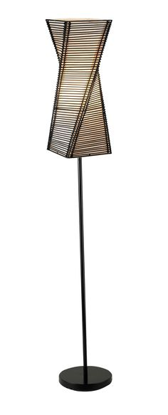Buy adesso 4047 01 stix floor lamp black at harvey haley for only 113 80