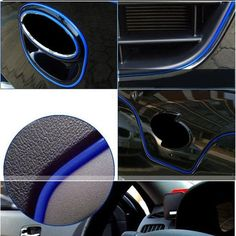 5M Car Grille Interior Exterior Mouldings Trim Outlet Decoration Strip Sale - Banggood Mobile