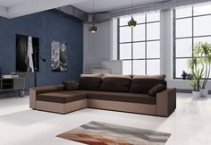 Colțar extensibil PAMELA   Expedo.ro Couch, Bed, Furniture, Home Decor, Settee, Sofa, Stream Bed, Couches, Interior Design