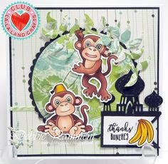 From our Design Team! Card by Debbie Pamment featuring Club La-La Land Crafts January 2017 kit featuring Genie Marci, Monkey Business stamp set and these Dies - Palace Border, Lamp, Make a Wish :-) Club La-La Land Crafts subscription details are here - http://lalalandcrafts.com/aboutus.sc.  Coloring details and more Design Team inspiration here -  http://lalalandcrafts.blogspot.ie/2017/01/club-la-la-land-crafts-january-2017-kit_24.html