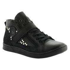 Janis/R sneakers cuir cloutées