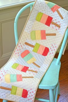 Mini Popsicles pattern