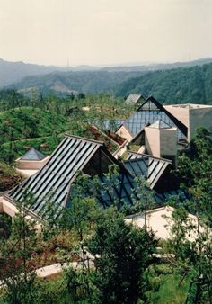 Miho Museum, Shangri-la. I M Pei. 1997. Japan. Southeast of Kyoto, near the town of Shigaraki