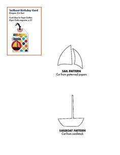 Free sailboat pattern