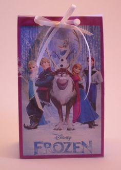 Disney Frozen Birthday Goody Bags Digital Printed by KiMFDesigns, $3.00