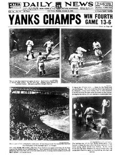 """1932 World Series Yankees over Cubs, 4-0 Stars: The usual suspects. Babe Ruth hit his """"called shot"""" in Game 3, one of the most famous - and disputed - plays in baseball history, and Lou Gehrig batted .529 with three homers. Both men hit two homers in Game 3.  Synopsis: This one was primed for fireworks even before the first pitch. Joe McCarthy, the ex-Cub manager, would be returning to Wrigley Field with the enemy and hard feelings. Ruth created a stir by going to war with the Cubs in the…"""