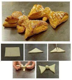 pâte feuilletée sucre et amandes