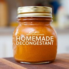 How to Make Homemade, All-Natural Spicy Cider Decongestant and Expectorant- this stuff works! Love it.