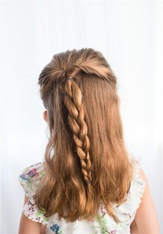 19 Super Easy Hairstyles For Girls kids hairstyle girls quick hairstyles for school kid hairstyles boy kids hairstyle for short hair kids hairstyles boys 5 minute hairstyles for school easy hairstyles for school step by step hairstyles for Easy Little Girl Hairstyles, Quick Hairstyles For School, Super Easy Hairstyles, 5 Minute Hairstyles, Cute Hairstyles For Kids, Cool Braid Hairstyles, Easy Hairstyles For Long Hair, My Hairstyle, Trendy Hairstyles