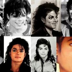 Different faces of MJ