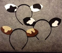 Cow ears headband birthday party favors Christmas by Partyears